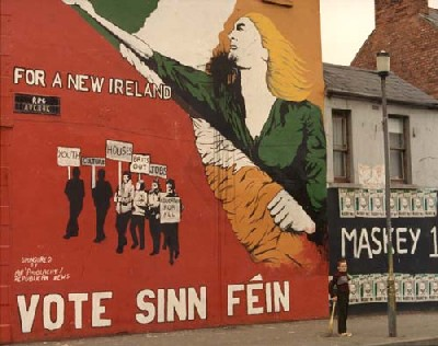 Exploring Catholic section of Belfast, 1983By Patrick Boyle