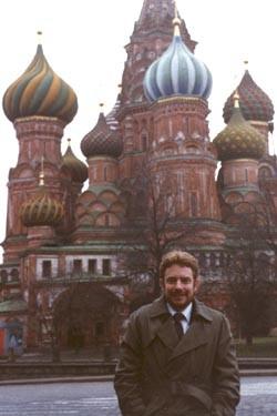 Boyle in Moscow, 1991By Barbara Ferguson