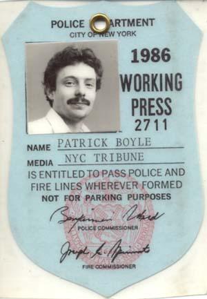 Press Pass, New York