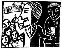 Political Ethics Cartoon