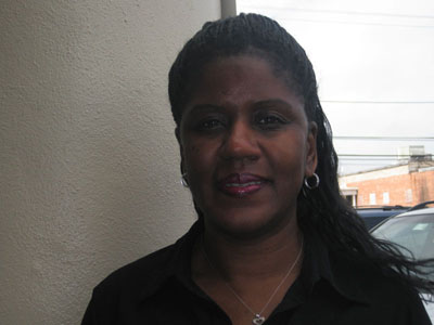 Author Alexandria Jones (Photo by Maryland Newslines Daniela Feldman)