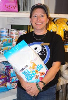 Frederick County Humane Society Executive Director Brigitte Farrell