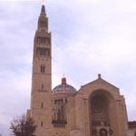 The National Shrine, at Catholic University