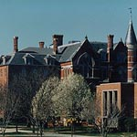 College Hall and Edward Miner Gallaudet Memorial Building, Courtesy Gallaudet University