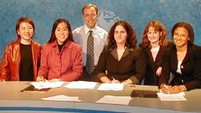 The TV Bureau Crew, Spring 2002